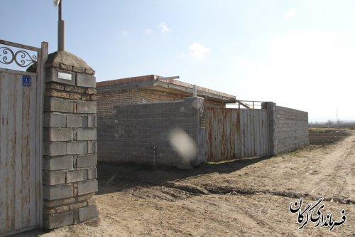 بازدید فرماندار گرگان از روستای درویش آباد بخش بهاران