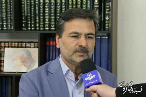 گرگان در وضعیت هشدار زرد/ صدور مجوز تردد در دفاتر پیشخوان دولت
