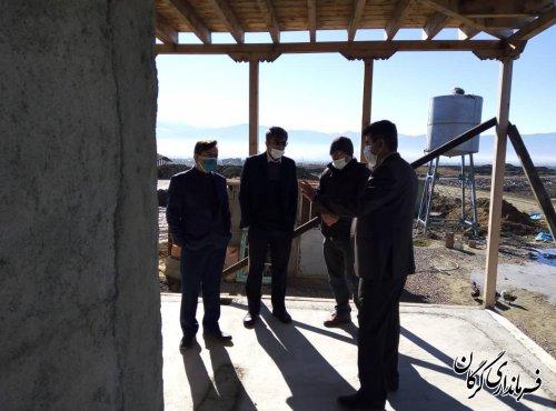 بازدید فرماندار گرگان از اقامتگاه بومگردی روستای محمد آباد