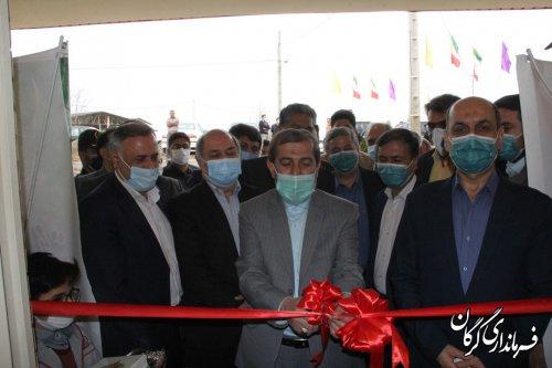 سالن ورزشی فجر روستای اصفهانکلاته  شهرستان گرگان به بهره برداری رسید