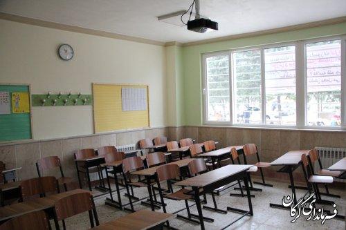 آیین افتتاح مدرسه ۶ کلاسه بنیاد علمی آموزشی قلم چی روستای حیدر آباد شهرستان گرگان برگزار شد