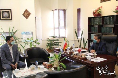 ملاقات عمومی فرماندار گرگان برگزار شد