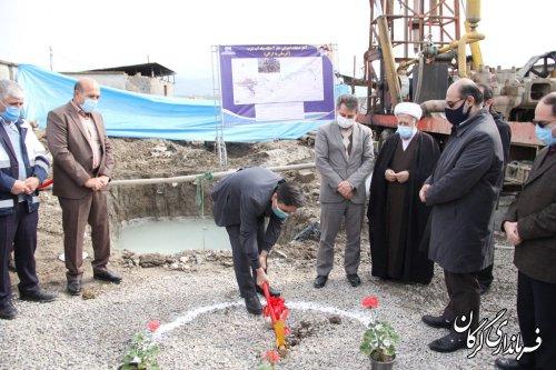 شروع عملیات اجرایی حفر دو حلقه چاه آب شرب شهر گرگان