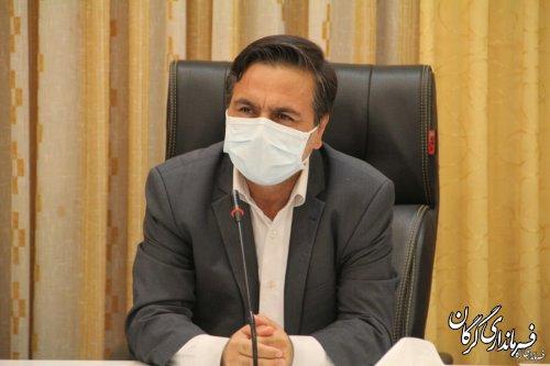 فرمانداری گرگان برای تردد به شهر های زرد و آبی مجوز تردد صادر نخواهد کرد