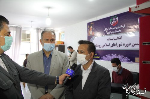 فرآیند ثبت نام از داوطلبین انتخابات شوراهای روستایی و عشایری از امروز در شهرستان گرگان آغاز شد
