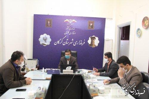 جلسه کمیته اجرایی انتخابات به ریاست فرماندار مرکز استان برگزار شد
