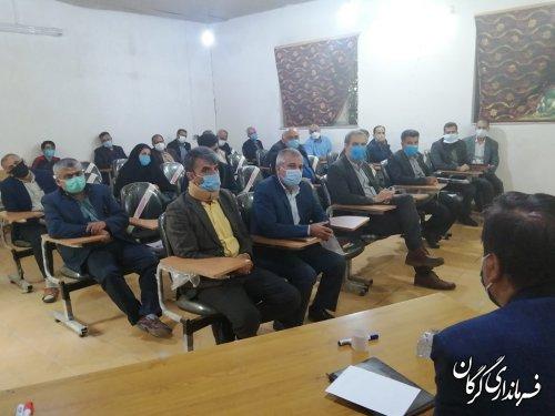 تشکیل کمیته اجرایی بازگشایی مسیر های زهکشی اراضی در شهرستان گرگان
