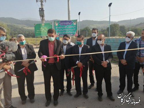 آغاز بهره برداری از دو پروژه ی اقتصادی و عمرانی در دو روستای  شهرستان گرگان