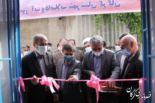 دفتر خدمات اتفاقات شبکه برق و آب و فاضلاب شهر قرق افتتاح شد