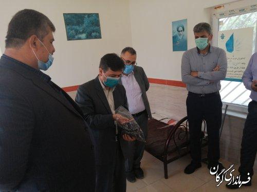 برداشت ٨ هزار تن کلزا در شهرستان گرگان تا کنون / ٧ مرکز خرید آماده دریافت کلزا کشاورزان می باشد