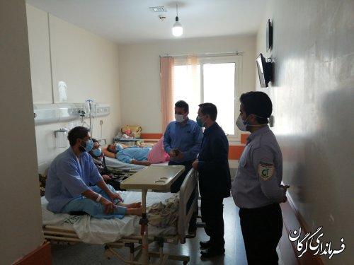 بستری ۴۰۰ بیمار کرونایی در گرگان/ظرفیت تخت ها در حال تکمیل است
