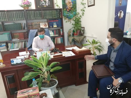 ملاقات مردمی فرماندار گرگان برگزار شد