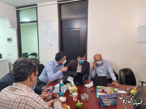 بازدید فرماندار گرگان از روند برگزاری انتخابات سازمان نظام مهندسی ساختمان استان گلستان