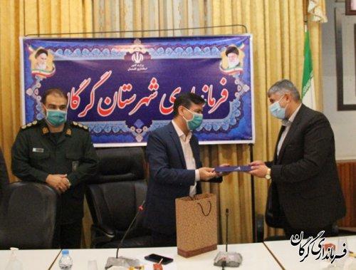 تجلیل از کارکنان نمونه نیروی انتظامی شهرستان گرگان